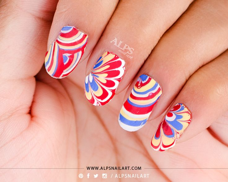 Best 25+ Water marble nails ideas only on Pinterest