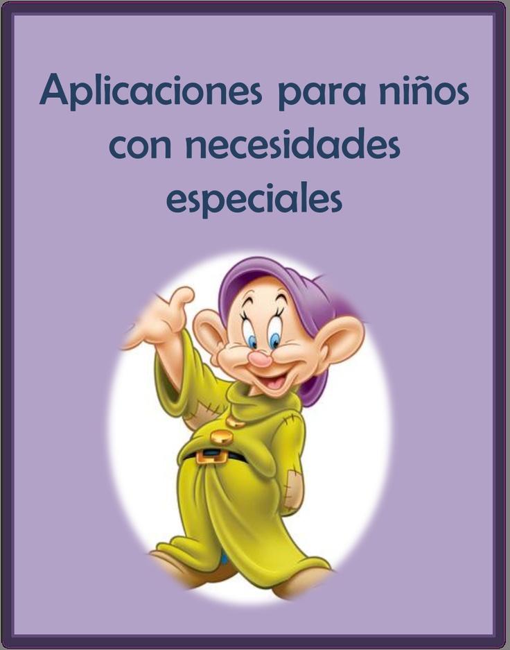 """Aplicaciones para niños con necesidades especiales: """"Mamá, ¿por qué mudito no puede hablar?""""  http://pequestrescero.blogspot.com.es/2012/11/aplicaciones-para-ninos-con-necesidades.html"""