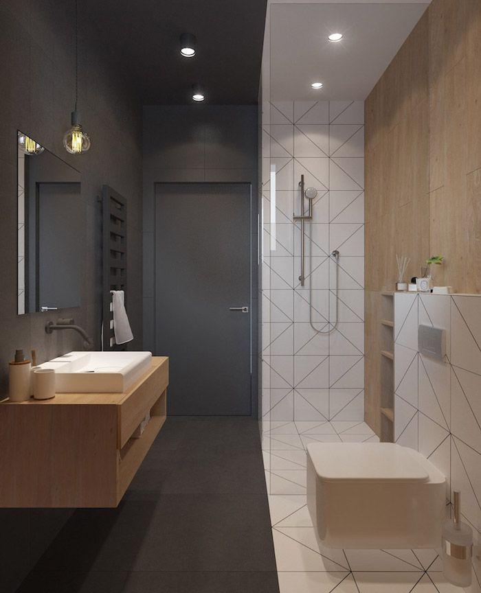 Salle de bain beige et gris – pierre deviendra sable | Home ...