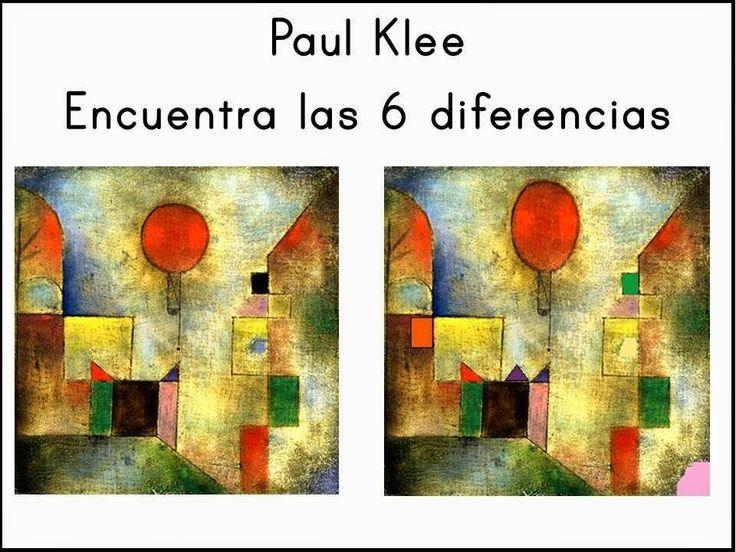 Pintores famosos: Paul Klee para niños. Cuadros para colorear. Vídeos y cuentos…