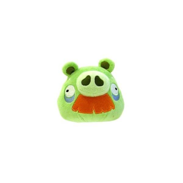 Angry Birds - Cerdo Abuelo De Peluche Con Sonido 5''