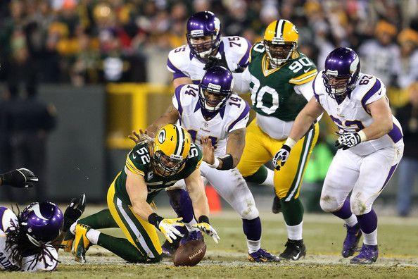 Clay Matthews - Wild Card Playoffs - Minnesota Vikings v Green Bay Packers