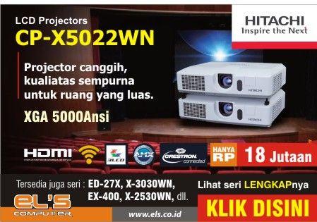 Banner Slide_Projector Hitachi X5022