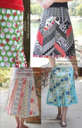Fashion Formula Skirts Vol. 2 is the follow-up to the popular Fashion Formula Skirts mini-book. Just like the original, this is a collection of simple-to-sew skirt patterns in a 24 page mini-book form