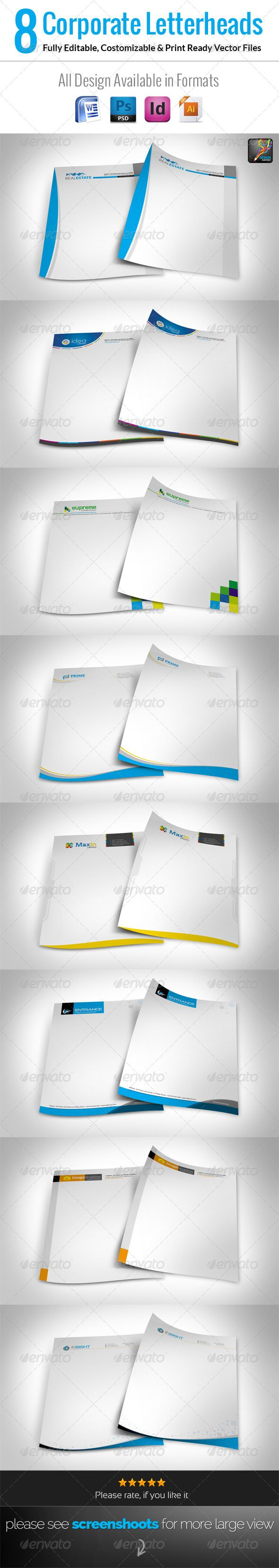 word document stationery