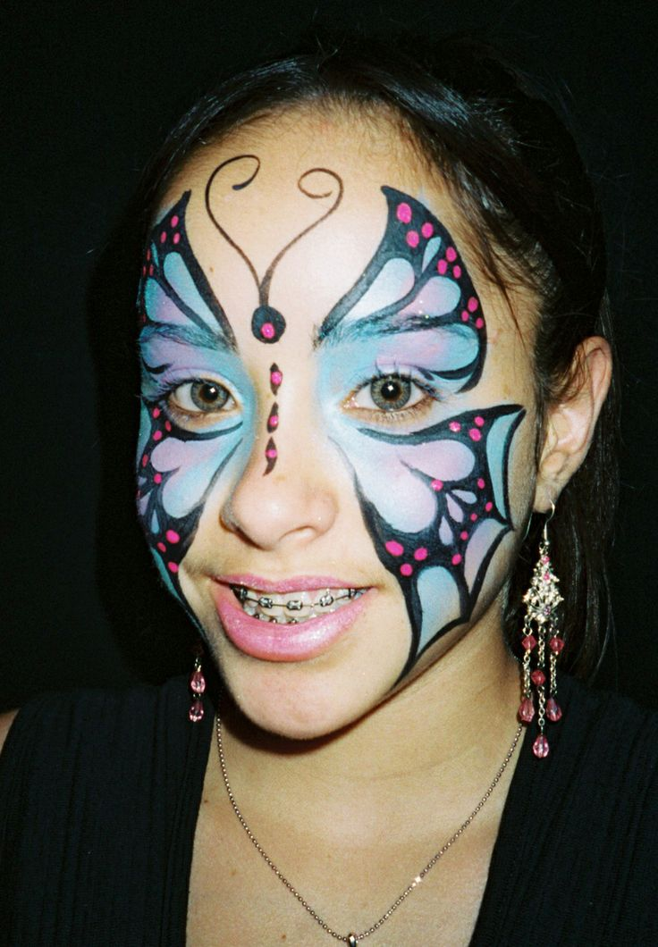Pin Face Painting Ideas For Kids On Pinterest