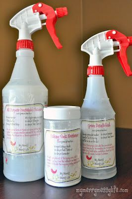 3 GREEN Homemade Cleaners