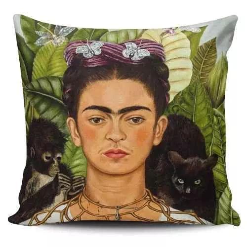 Cojin Decorativo Tayrona Store Frida Gatos - $ 43.900