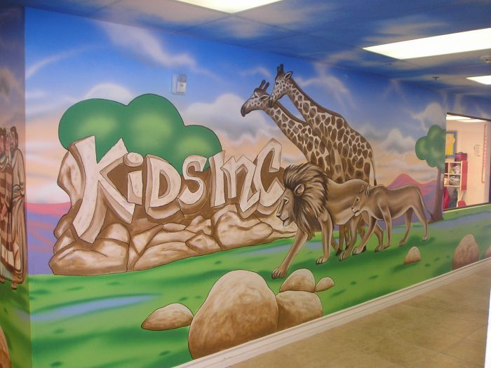 14 Best Church Mural Ideas Images By Tracy Elkins On