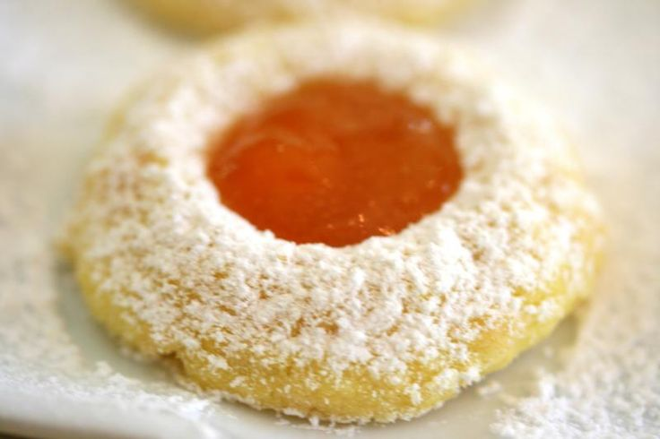 """""""Ovis Mollis"""": tender cookies with apricot-jam and honey 