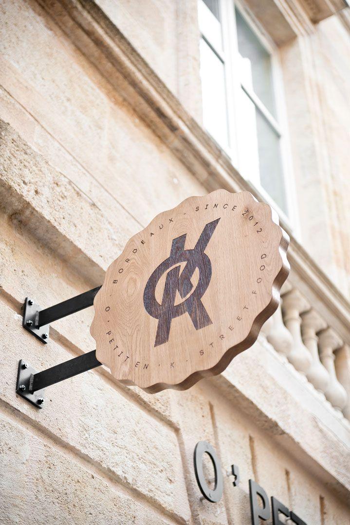 Hekla / Design global / O'Petit en'K / Street food / Bordeaux / Enseigne extérieure