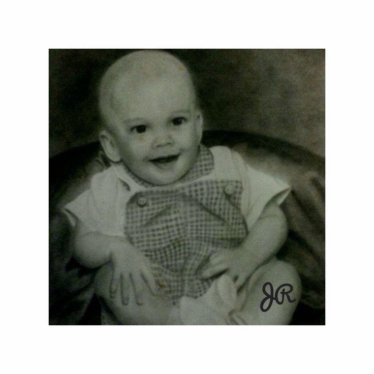 Graphite portrait of my son alex