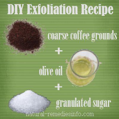 Home Remedies for Razor Bumps - DIY recipe for exfoliation