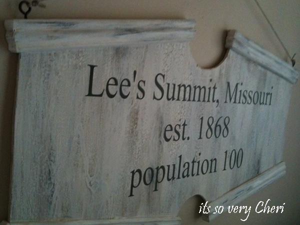 Lees Summit sign