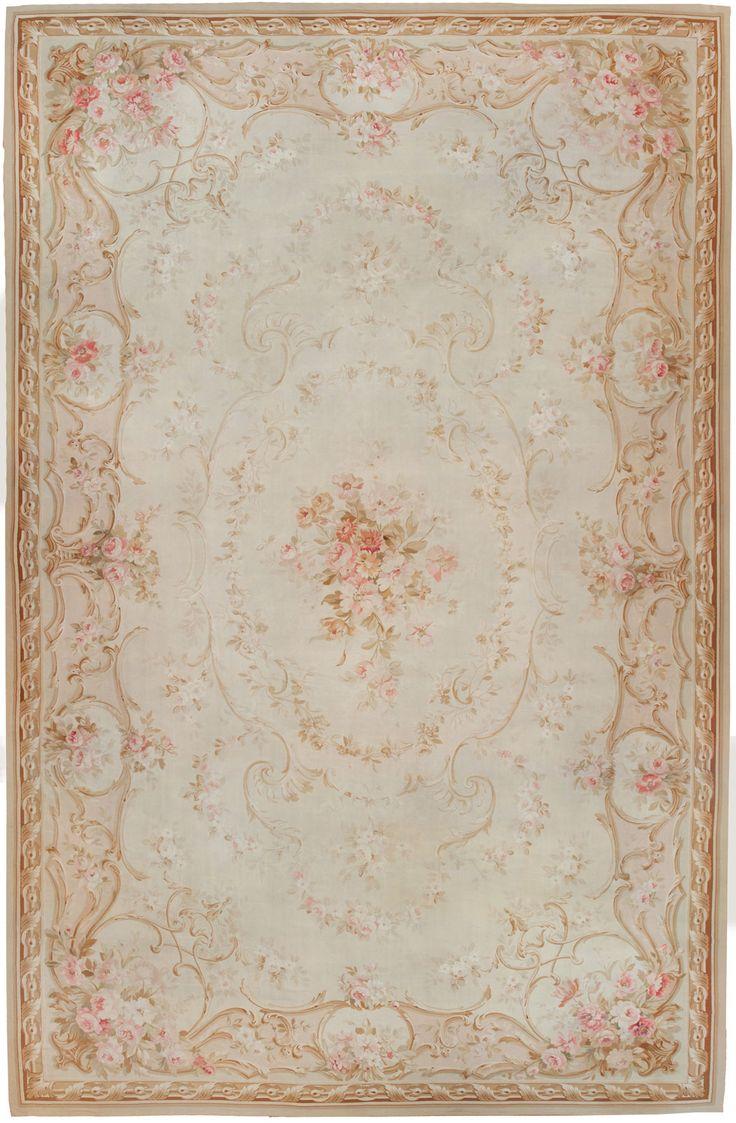 Antique Aubusson Carpet 45465 Http Nazmiyalantiquerugs
