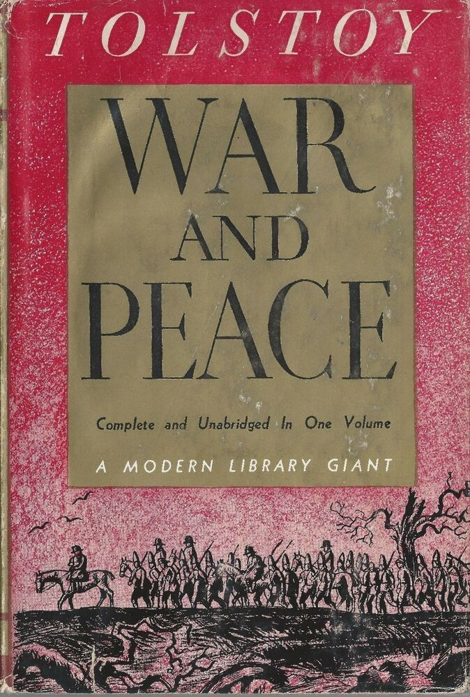 Details About Tolstoy War Peace Complete Unabridged 1 Volume
