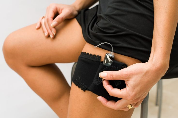 Design solution for carrying insulin pump