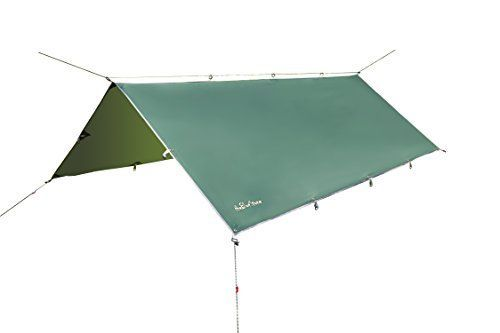 theBlueStone Hammock Rain Fly in 10 x 12 Feet for Canopy Hammock Outdoor Camping Oxford Waterproof Tarp Shelter Dark Green ** Find out more about the great product at the image link.