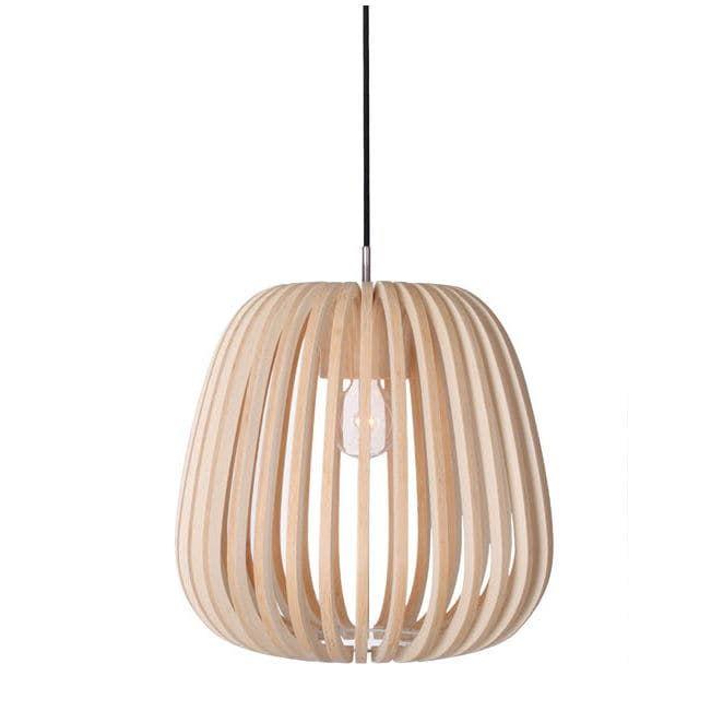 lampe suspension contemporaine en bois bamboo m10. Black Bedroom Furniture Sets. Home Design Ideas
