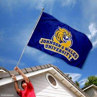 Johnson and Wales University Wildcats Logo Flag