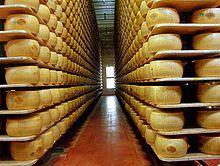 Il Parmigiano-Reggiano è un formaggio DOP, a pasta dura, prodotto con latte crudo, parzialmente scremato per affioramento, senza l'aggiunta di additivi o conservanti.