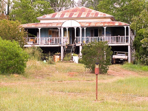 Old Queenslander at Esk