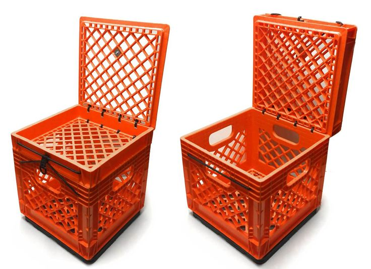 37 best boats images on pinterest tools bricolage and craft for What to do with milk crates