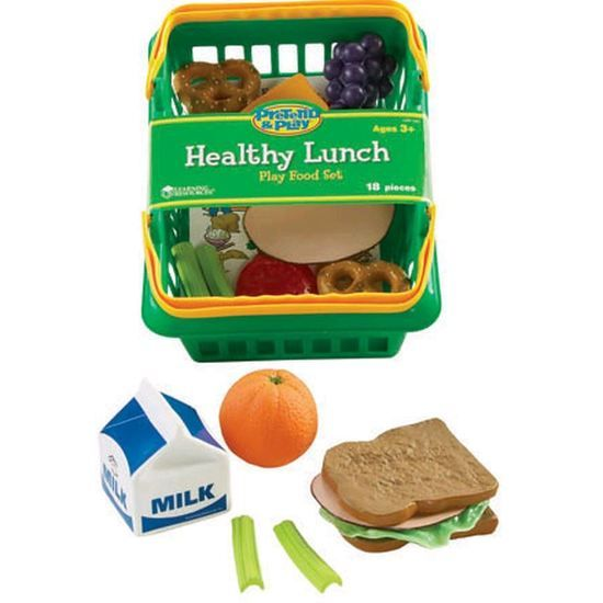 Learning Resources Pretend & Play Healthy Lunch Playfood Set