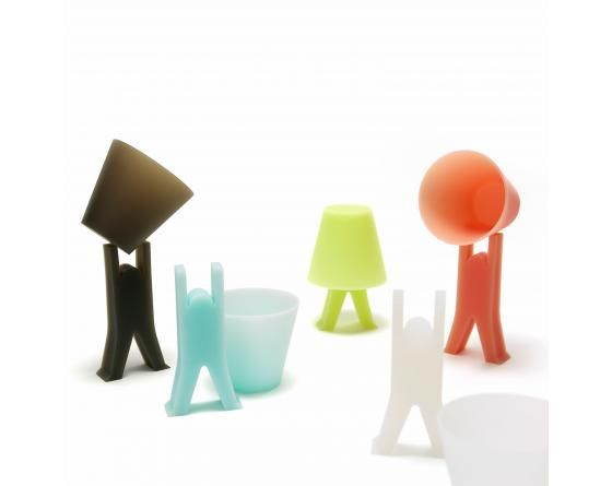 "KOBITO (Cup & Stand) - Fun Cup & Stand. KOBITO (""dwarf"" in Japanese"" helps your cup to dry quicker - designed by Miyuki Fushitani"