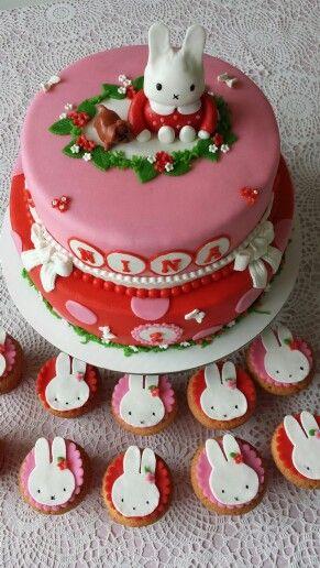 Nijntje/Miffy cake