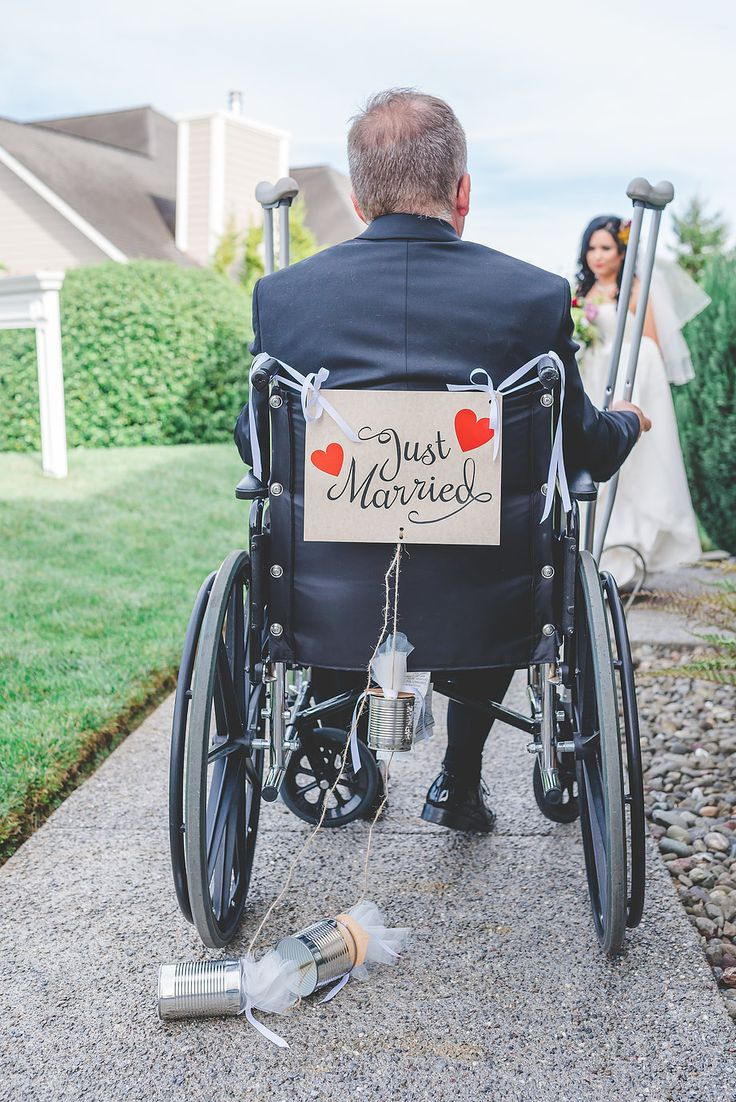 Just Married | Wheelchair Groom | Home Wedding | Fortuna California | Perfect Details and Little Touches | JM Photography | Humboldt County Wedding and Portrait Photographer