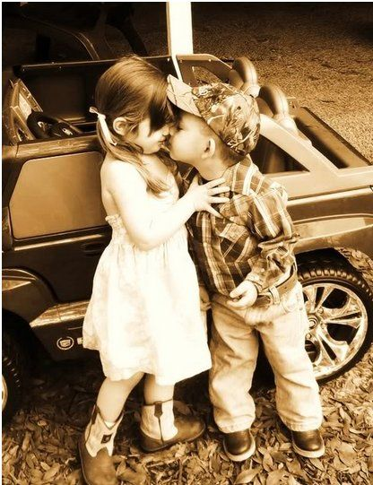 via favim: First Kiss, Oneday, Sweet, Country Boys, Country Kids, Little Cowgirl, Pictures, Camo Hats, Future Kids