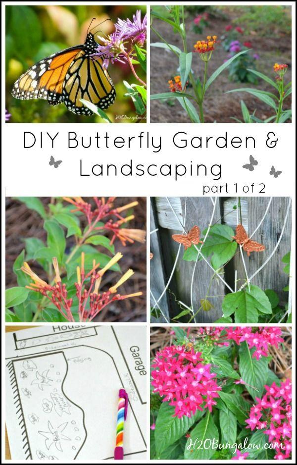 diy butterfly garden landscaping part 1