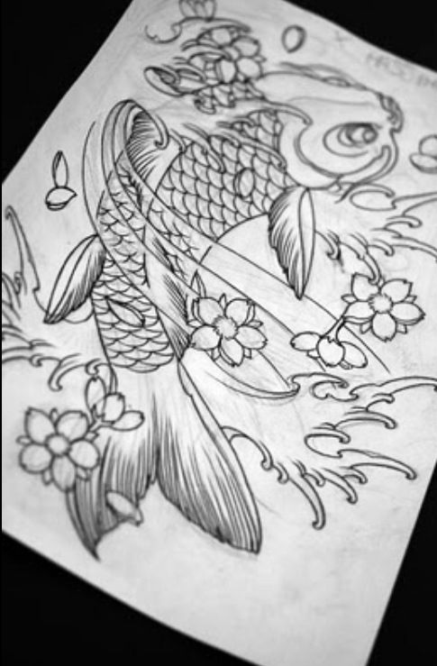 Carp tattoo