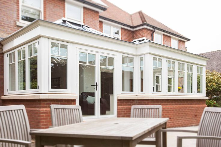 Different angle of this orangery! Brilliant addition to any home. #Windows #Doors #Conservatories #Orangery #HomeImprovement #Residence9 #R9journey
