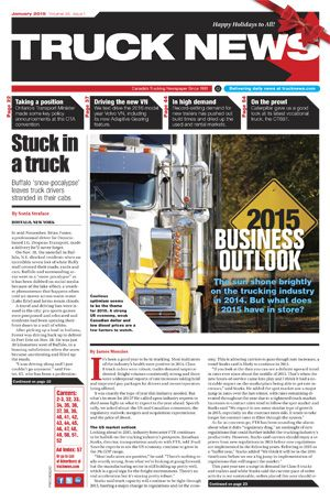 Truck News Magazine one of the most respected Commercial Trucking Magazines in Canada just published a very detailed and informative article on Smart Lite