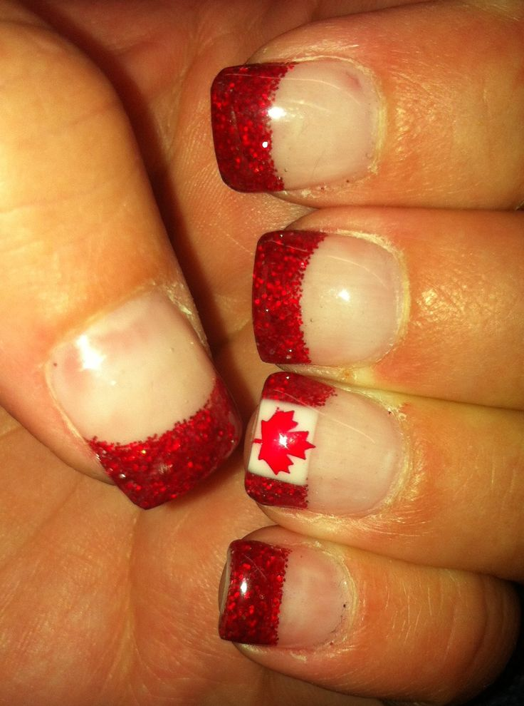 13 best Canada day images on Pinterest | Canada day, Belle nails and ...