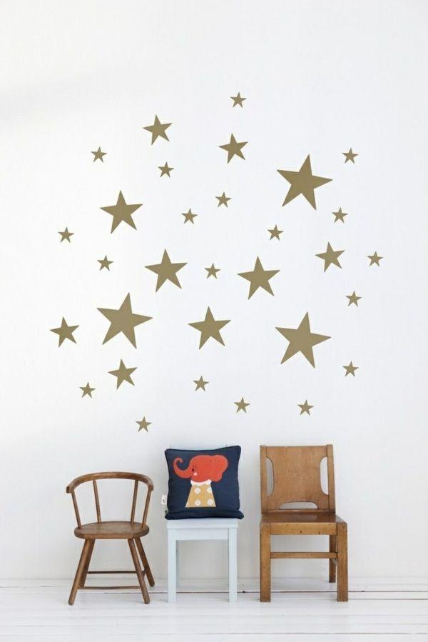 ber ideen zu wandgestaltung kinderzimmer auf. Black Bedroom Furniture Sets. Home Design Ideas