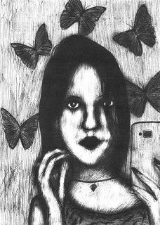 Tiago Amaral Arts: Retrato de Carolaine