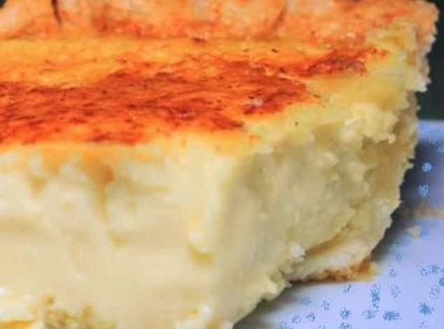 Lizzie's Coconut Custard Pie - This is a real old-fashioned recipe, they way custard pie should be without a lot of unnecessary ingredients.. so easy, and so DELISH!