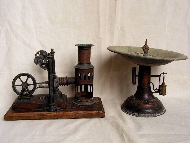 Ancienne machine a vapeur ERNST PLANK XIXeme moteur air chaud fontaine jouet jeu | eBay
