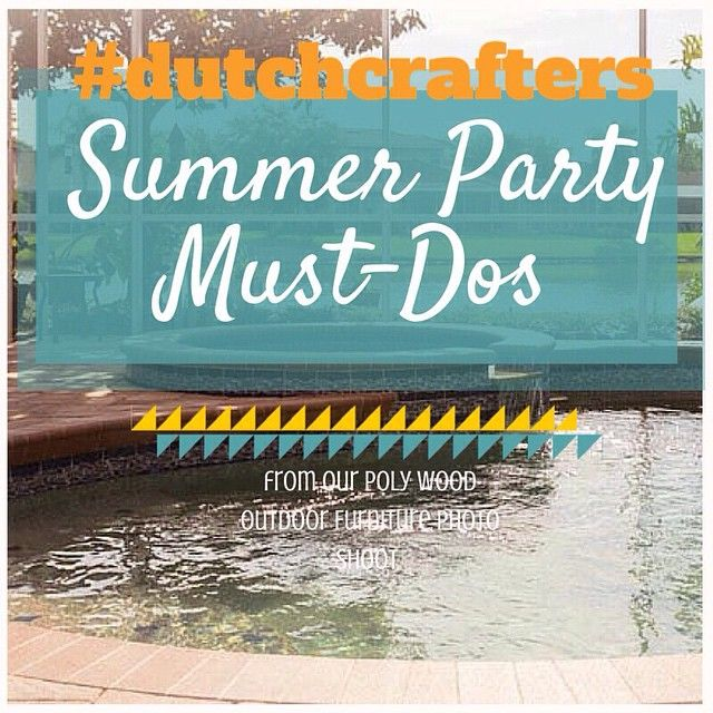 For today's #MemorialDay soirées and the rest of the summer season, some #outtakes to #inspire your get-togethers:http://buff.ly/1Bmbm1V #mondayblogs #dutchcrafters#amishfurniture #amishoutdoorfurniture #polywood#polywoodoutdoorfurniture #summerparty #sum