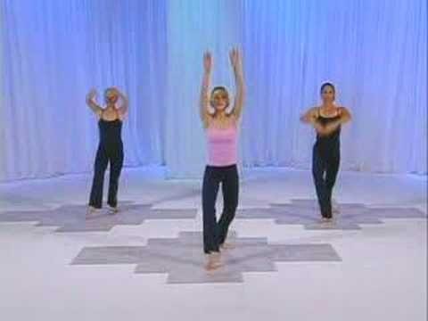 Balletone dancers workout