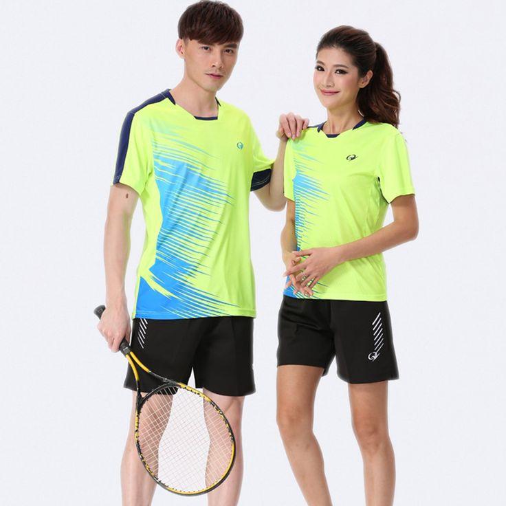 $27.10 (Buy here: https://alitems.com/g/1e8d114494ebda23ff8b16525dc3e8/?i=5&ulp=https%3A%2F%2Fwww.aliexpress.com%2Fitem%2FShirt-Table-Tennis-Badminton-Li-Ning-Badminton-Tennis-Skirt-Men-Women-Shirt-And-Shorts-Sport-Tennis%2F32548810098.html ) 2016 New Short Sleeve Badminton Uniforms Table Clothes For Men and Women Table Tennis Suit for just $27.10