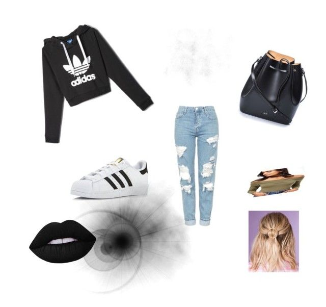 Untitled #11 by xcon27x on Polyvore featuring polyvore, fashion, style, adidas, Topshop, N°21, Miss Selfridge, Lime Crime and clothing