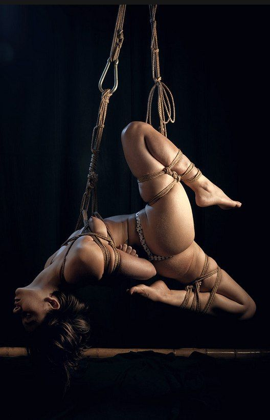 Japanese rope suspension free erotic