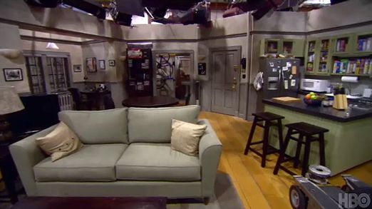 seinfeld set: Seinfeld Apartment, Tv Movies Apartmentsrobin, Movies Sets, Nyc Apartment, Seinfeld Reunions, Seinfeld Sets, Jerry Seinfeld, Apartmentsrobin Baron, Tv Movies Kitchens