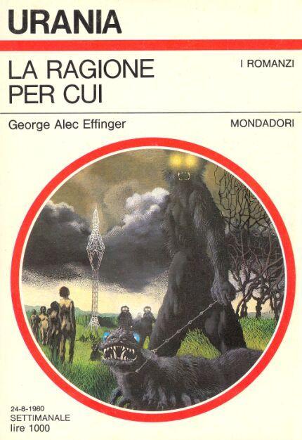 850  LA RAGIONE PER CUI 24/8/1980  THOSE GENTLE VOICES (1976)  Copertina di  Karel Thole   GEORGE ALEC EFFINGER