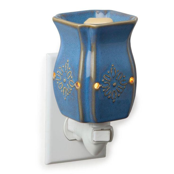 Small Wax Warmer - Vintage Azure