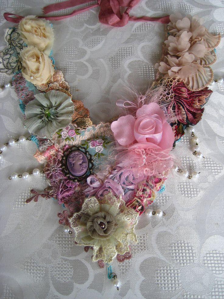 bib lace necklace